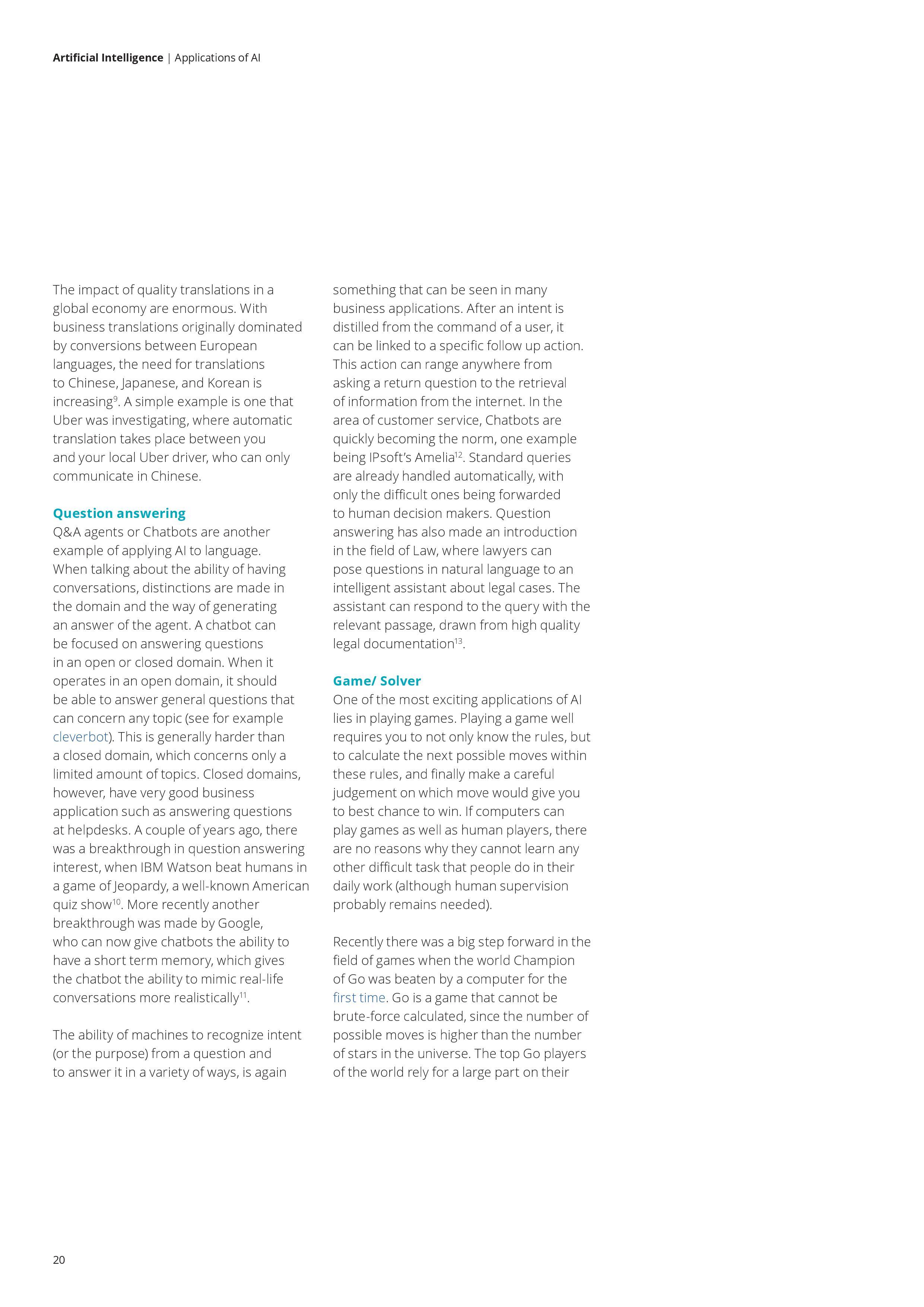Deloitte AI Whitepaper